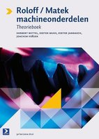 9789039526941   Roloff Matek machineonderdelen deel Theorieboek