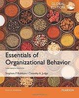 Essentials of Organizational Behavior, Global Edition   9781292090078