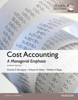 9781292079080 | Cost Accounting with MyAccountingLab, Global Edition