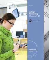 9781285059556 | College Accounting, Chapters 1-27, International Edition