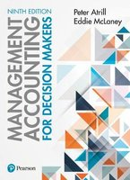 9781292204574 | Management Accounting for Decision Makers 9th edition