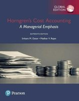 Horngren's Cost Accounting | 9781292211541