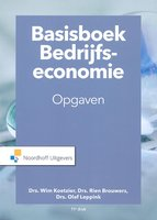 Basisboek Bedrijfseconomie opgaven | 9789001889159