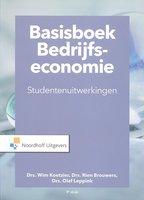 9789001889197 | Basisboek bedrijfseconomie-studentenuitwerkingen