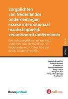 9789462902466 | Zorgplichten van Nederlandse ondernemingen inzake internationaal maatschappelijk verantwoord ondernemen