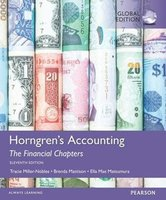 9781292119335 | Horngren's Accounting, The Financial Chapters, Global Edition