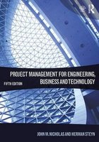 9781138937345 | Project Management for Engineering, Business and Technology
