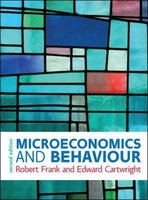 Microeconomics and Behaviour 2e ed | 9780077174088