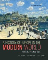 9780077599584 | A History of Europe in the Modern World, Volume 2