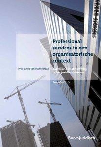 9789462901636   Overige publicaties - Professional services in een organisatorische context