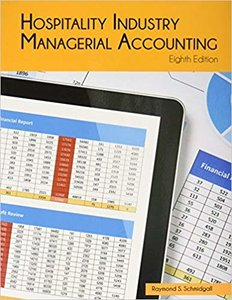 Hospitality Industry Managerial Accounting   9780866124973