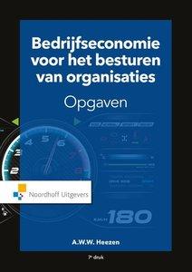 9789001900069 | Bedrijfseconomie voor het besturen van organisaties-opgaven