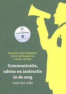 9789043036603 | Communicatie, advies en instructie in de zorg voor het mbo