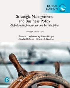 Strategic Management and Business Policy | 9781292215488