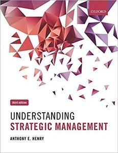 Understanding Strategic Management   9780199662470