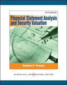 9780071326407 | Financial Statement Analysis and Security Valuation