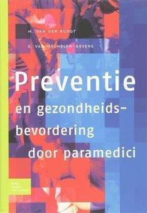 9789031351169 | Preventie en gezondheidsbevordering door paramedici
