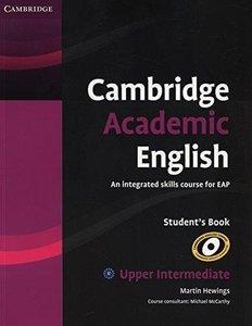 9780521165204 | Cambridge Academic English B2 Upper Intermediate Student's Book