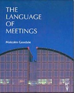The Language of Meetings | 9780906717462