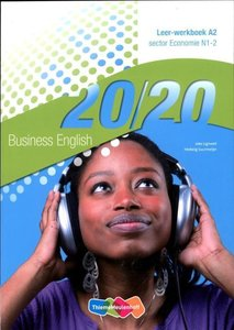 9789006814590 | 20|20 English | A2 Economie N1-2 | deel Leer-werkboek