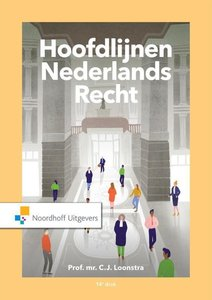 Hoofdlijnen Nederlands recht | 9789001593193