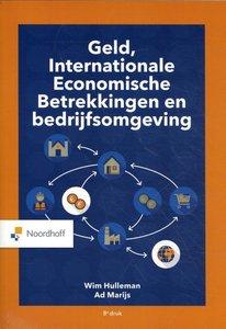 9789001590987 | Geld, Internationale Economische Betrekkingen en bedrijfsomgeving