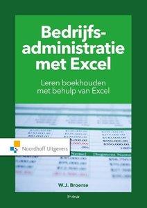 Bedrijfsadministratie met Excel | 9789001889371