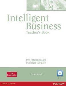 Intelligent Business Pre-Intermediate Teachers Book  9781405843393