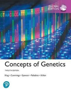 Concepts of Genetics, Global Edition   9781292265322