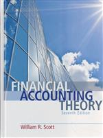 Financial Accounting Theory | 9780132984669