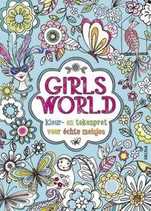 9789044729351   Girls' World kleur- en tekenpret voor echte meisjes