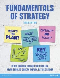 Fundamentals of Strategy   9781292017303