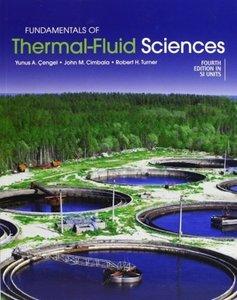 Fundamentals of Thermal-Fluid Sciences   9780071325110