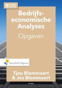 Bedrijfseconomische analyses Opgaven | 9789001867225
