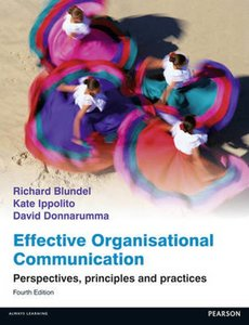 Effective Organisational Communication | 9780273774860