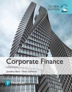 Corporate Finance | 9781292160160